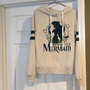 Disney's The Little Mermaid hooded sweatshirt